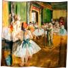 Carré de soie L'école de danse de Degas