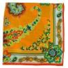 Petit carré en soie paisley