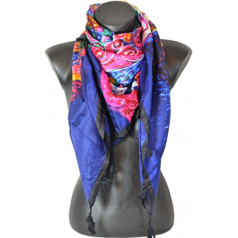 Cheche en soie Klimt