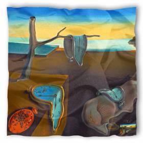 Carré de soie Dali, La persistance de la mémoire