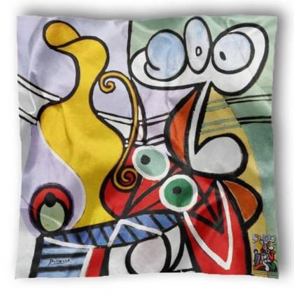 Carré de soie Picasso, Grande nature morte au guéridon