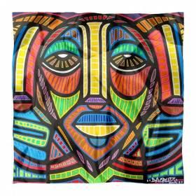 Carré de soie Da Cruz, Color Meditation