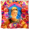 Carré de soie Kahlo, Le portrait