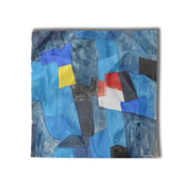 Carré de soie Poliakoff, Composition pour carnet enluminures bbfa61916e8
