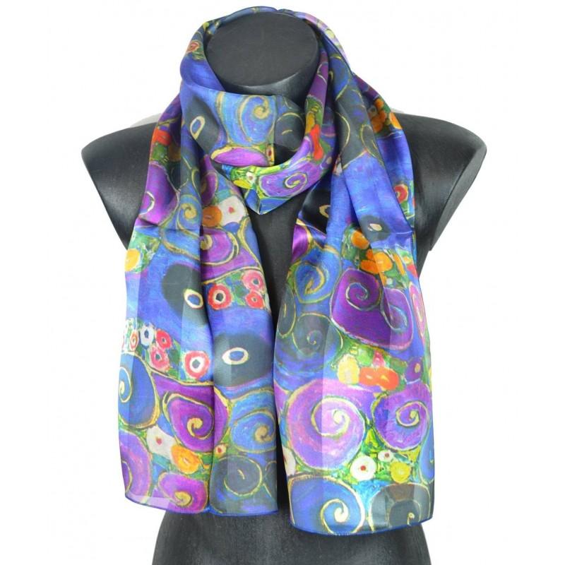 Echarpe en soie Klimt - Virgin
