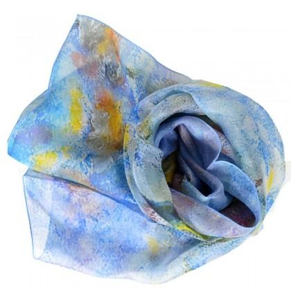 Echarpe en soie Bonnard - Jardin