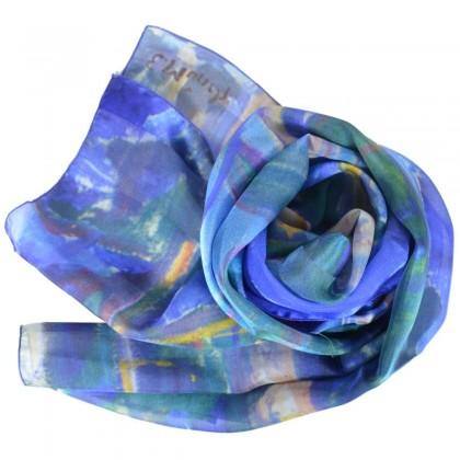 Echarpe en soie Munch - Le Tronc Jaune