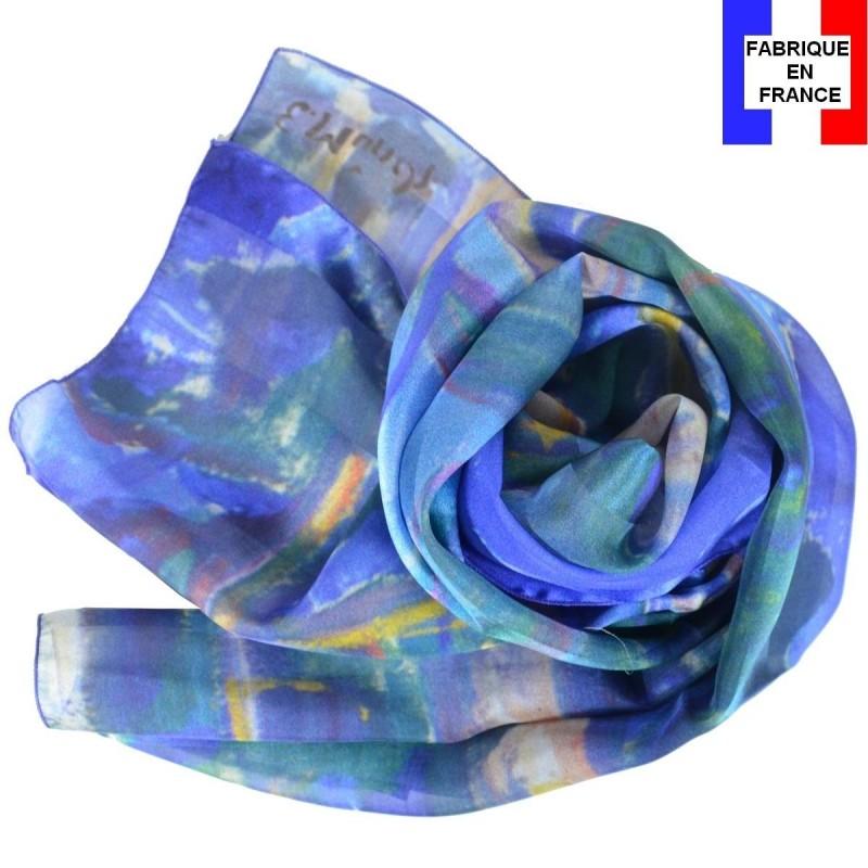 Echarpe en soie Munch - Le Tronc Jaune 919eb42e340
