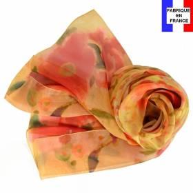 Echarpe en soie Marquet - La Femme Blonde