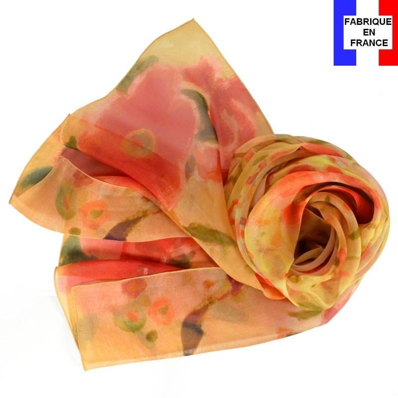 Echarpe en soie Marquet - La Femme Blonde a075657b1e2