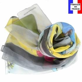 Echarpe en soie Picasso