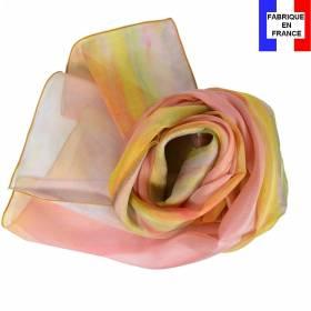 Echarpe en soie Bonnard - Atelier aux Mimosas