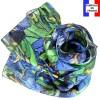 Echarpe en soie Van Gogh - Les Iris