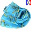 Echarpe en soie Van Gogh - Amandiers