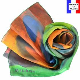 Echarpe en soie Gauguin - Mahana No Atua