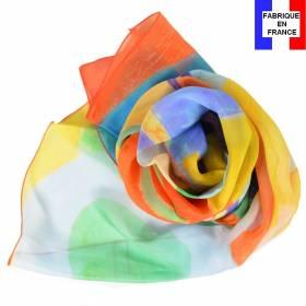 Echarpe en soie Delaunay R. - Rythme, Joie de Vivre