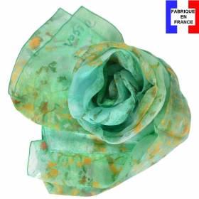 Echarpe en soie Degas - Danseuse en Vert