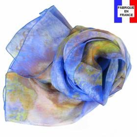 Echarpe en soie Degas - Danseuse en Bleu