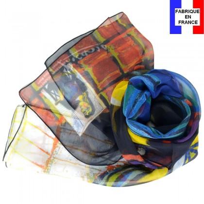 Echarpe en soie Picasso - Portrait de Dora Maar