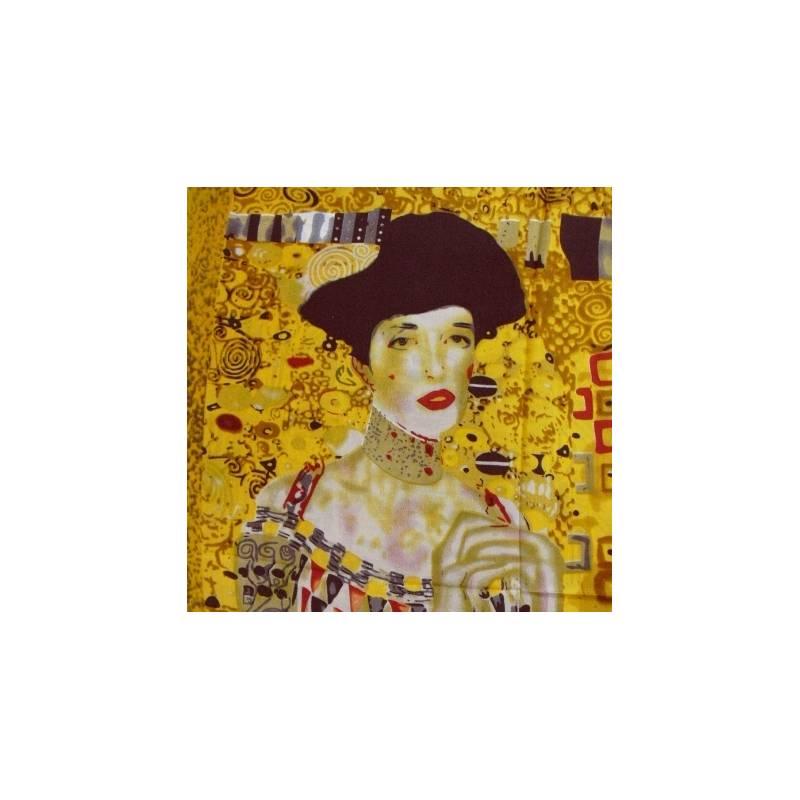 Echarpe en crêpe de Chine Portrait d'Adele Bloch-Bauer