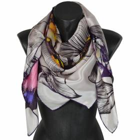 b5e2583d1010 Carré de soie   des foulards carrés pour femme