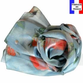Echarpe en soie Versailles – Marie-Antoinette à la Rose