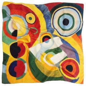 Carré de soie Delaunay – Rythme Joie de Vivre