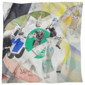 Carré en soie Chagall – Introduction au Théâtre Juif
