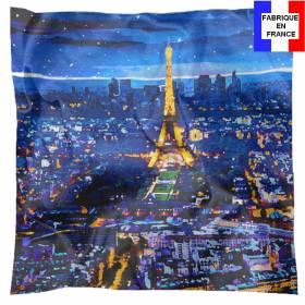 Carré de soie Paris la Nuit
