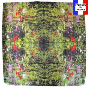 Carré de soie Piton - Jardins de Giverny, Nymphéas