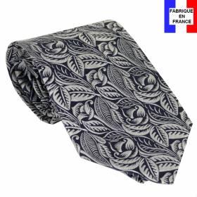 Cravate soie Dufy - Tulipes