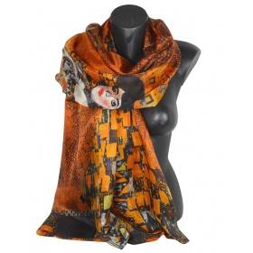 Etole en soie Klimt portrait Adele
